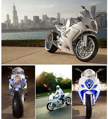 2008 Suzuki GSX-R  FULL CUSTOM 1 of a Kind Suzuki GSXR 1000. Masterpiece. Museum Quality. 15 Miles
