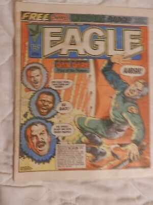 EAGLE ccomic (1984) with free gift
