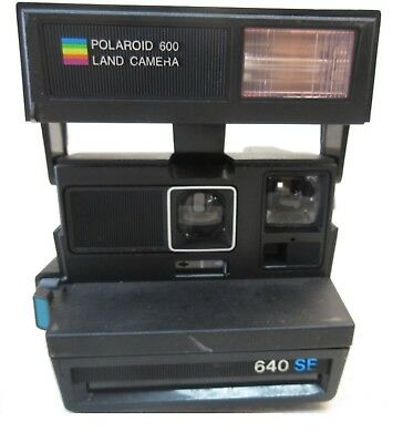 Vintage Polariod 600 Land Camera 640 SF - Made in United Kingdom