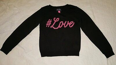 NWOT Girls Size Small 5/6 Graphic Sweater The Childrens Place FREE SHIPPING