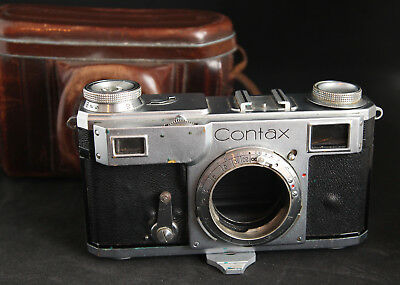Zeiss Contax II 35mm Rangefinder Camera Body