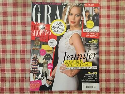 Grazia Magazine Nov 2015