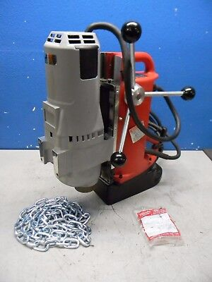 """Milwaukee Electromagnetic Portable Drill Press 1-1/4"""" Chuck 120V 12.5A 4208-1"""