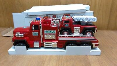 2015 Hess Firetruck and Ladder Rescue - FREE SHIPPING