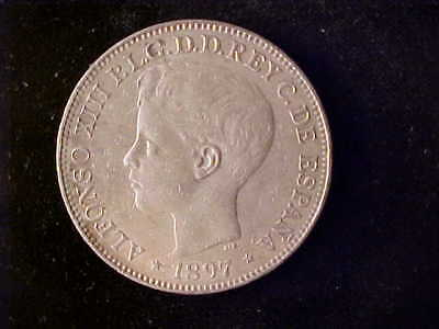 Philippines One Peso 1897 Ef Or Better