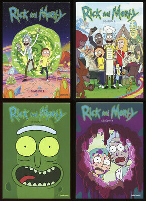 Rick and Morty Seasons 1 & 2 (SLIPCOVERS & DVD CASES ONLY)
