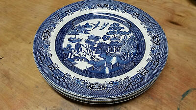 Blue Willow Antique by Heritage Mint Classic Pattern Blue on White pattern