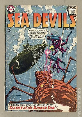 Sea Devils #15 1964 GD+ 2.5