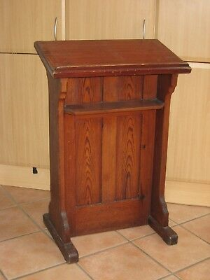 Lectern from Chapel, Book Rest, Phone stand