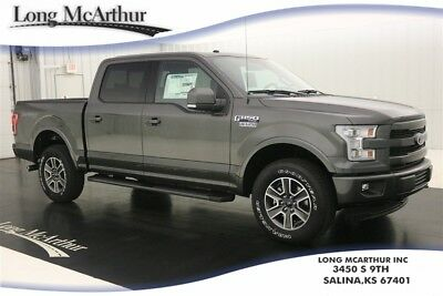 2017 Ford F-150 4X4 LARIAT 4X4 SUPERCREW 5.0 V8 SHORT BED NAV SUNROOF MSRP $58455 4WD 4 DOOR LARIAT SPORT APPEARANCE PACKAGE TRAILER TOW PACKAGE