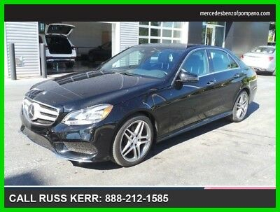 2015 Mercedes-Benz E-Class E 400 2015 E 400 Used Certified Turbo 3L V6 24V Automatic Rear Wheel Drive Sedan