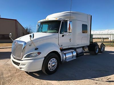 International Prostar Sleeper Tractor Truck 10 Speed 475 Hp Low Miles 2012 2013