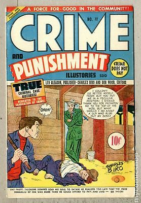 Crime and Punishment Canadian Edition #12 1949 FN 6.0
