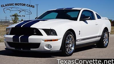 2008 Ford Mustang Shelby GT500 2008 White Shelby GT500! 3,000 MILES, Texas, Clean Carfax