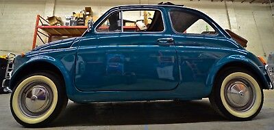 1970 Fiat 500 Lusso 1970 Turquoise Fiat 500L, 1 owner, fully documented, restored.