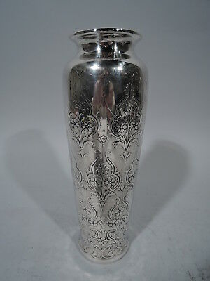 Tiffany Vase - 18097B - Antique Art Nouveau - American Sterling Silver