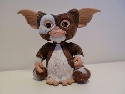"Retro Gizmo Mogwai Gremlins Movie Film Pull Back Toy Figure On Wheels 3"" Tall"