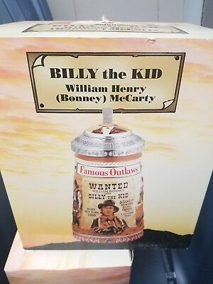 Billy the Kid and butch cassidy new steins in the box Collection