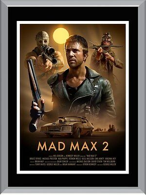 Mad Max 2 Movie A1 To A4 Size Poster Prints