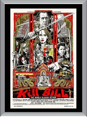 Kill Bill The Whole Bloody Affair A1 To A4 Size Poster Prints