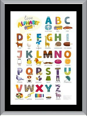 ABC Chart 2 A1 To A4 Size Poster Prints
