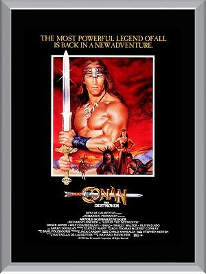 Conan the Destroyer Movie A1 To A4 Size Poster Prints