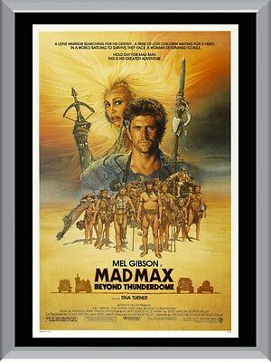 Mad Max Beyond Thunderdome A1 To A4 Size Poster Prints