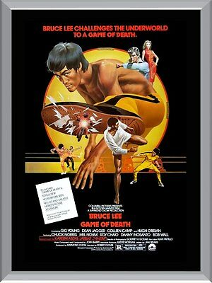 Game Of Death Bruce Lee Movie A1 To A4 Size Poster Prints