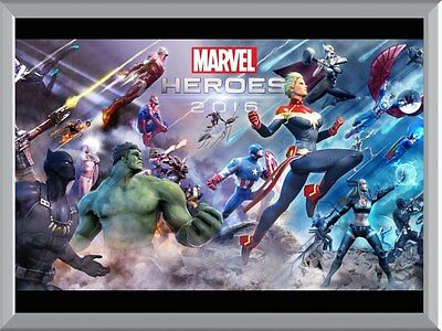 Marvel Heroes A1 To A4 Size Poster Prints