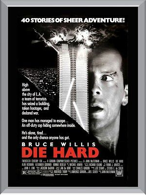 Die Hard Bruce Willis Movie A1 To A4 Size Poster Prints