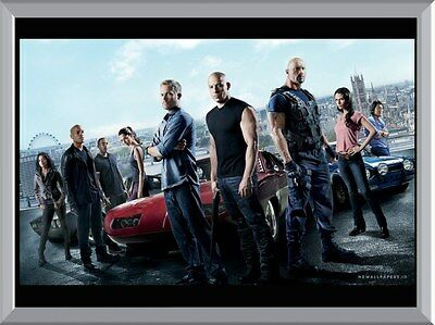 Fast And Furious 6 A1 To A4 Size Poster Prints