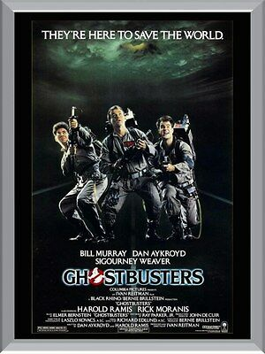 Ghost Busters Original A1 To A4 Size Poster Prints