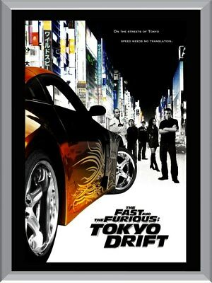 Fast And The Furious Tokyo Drift A1 To A4 Size Poster Prints