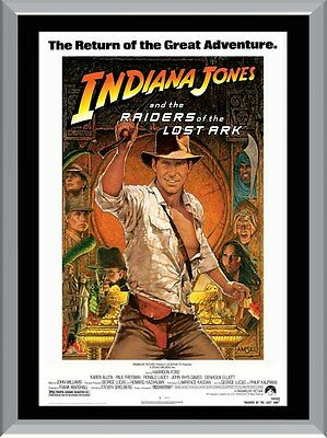 Raiders Of The Lost Ark Movie A1 To A4 Size Poster Prints
