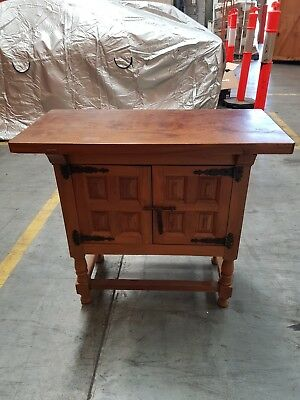 2 Door Antique Chinese Timber Cabinet