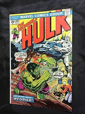 The Incredible Hulk #180 (Oct 1974, Marvel) 1st cameo appearace Wolverine