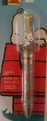 Snoopy Peanuts Joe Cool Charlie Brown ball point pen refillable Schulze