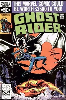 Ghost Rider (1st Series) #48 1980 VG+ 4.5 Stock Image Low Grade