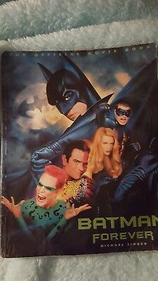 Batman forever collectors movie book