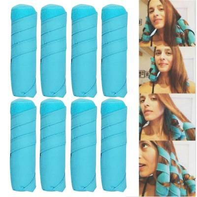 The Sleep Styler For Long Hair NIP 8pcs/set Rollers Curlers Curling Accessories