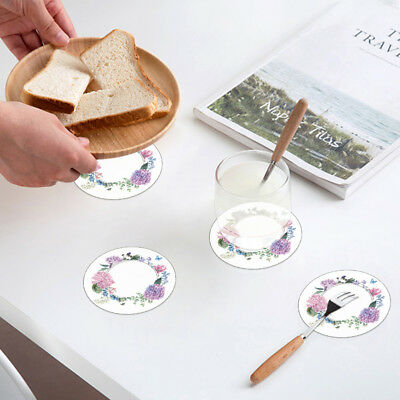 2pcs/set Heat Insulation Pad Anti-scalding Tableware Bowls Mat Tea Cup Holder