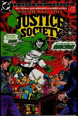 DC AMERICA vs The JUSTICE SOCIETY #2 NM/M 9.8 US ONLY!!