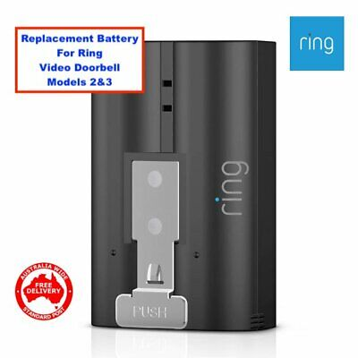 RING-HD Video Doorbell2 & Spotlight Cam Replacement / Spare Battery -FREE POST