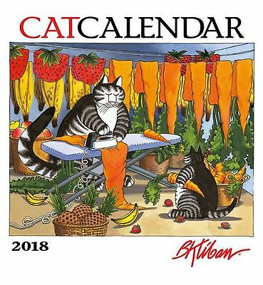 B. Kliban 2018 Wall Catcalendar