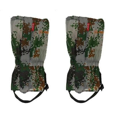 Unisex Durable Snow Legging Gaiters Boot Cover for Outdoor Camping Walking