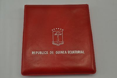 1970 Republic of Equatorial Guinea Silver 25 Pesetas Guineanas in Orig. Wallet