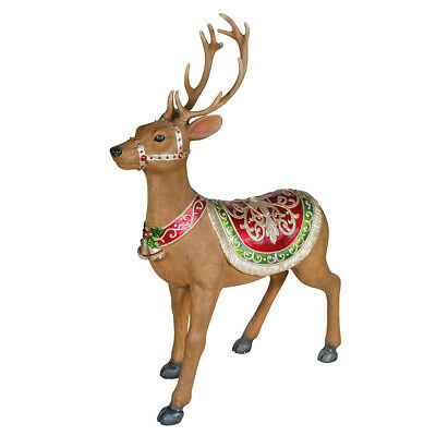 Christmas Reindeer with LED Lights - 125cm