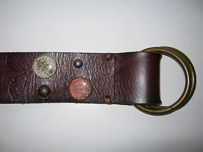 Fossil Leather Belt Sz  M