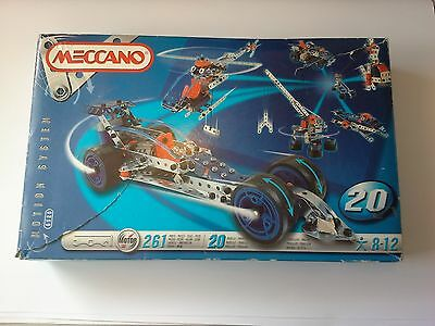 MECCANNO - # 6520 - Makes 20 Motorised Models