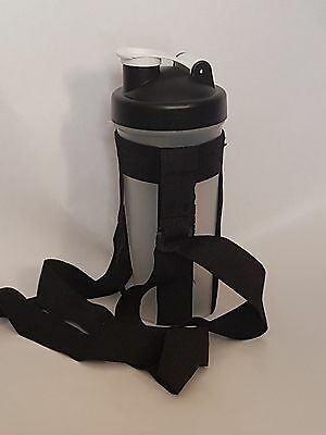 Protein Shaker Carrier HANDS FREE shoulder strap for #gym and #fitness Lovers